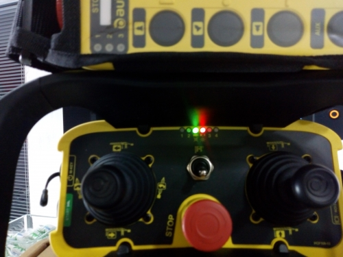 Full Made in Italy - AUTEC serie AIR radio mode - FHSS -  Stop alle interferenze - radiocomandi industriali autec